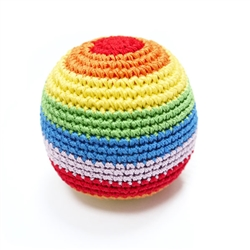 PAWer Squeaky Toy - Rainbow Ball