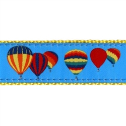 "Hot Air Balloon- 3/4"" Collars, Leashes and Harnesses"