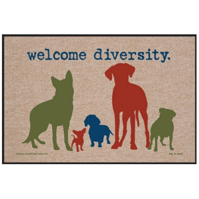 Welcome Diversity - Doormat