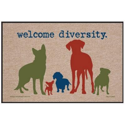 Welcome Diversity - Doormat