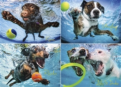 Underwater Dogs 2 - 1000 Piece Puzzle