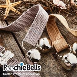 Cotton Webbing Premium PoochieBells® The Original Dog Potty Training Doorbell Bell