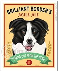 Brilliant Border Agile Ale (Border Collie)