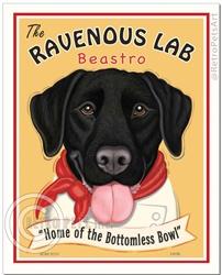 Ravenous Lab Beastro - Black Lab