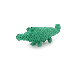 Cotton Rope Alligator Toy