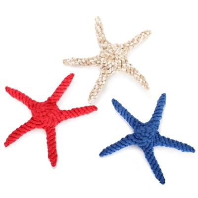 Cotton Rope Starfish Dog Toy