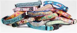 Designer ribbon collars