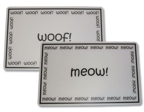 Woof & Meow Placemats