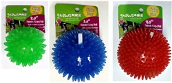 Gnawsome Dental Ball Squeak & Light Chew Toy