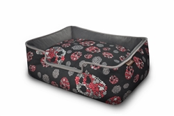 Skulls and Roses Lounge Bed