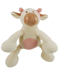 "Petite 6"" Millie Cow w/ Squeaker - New*"