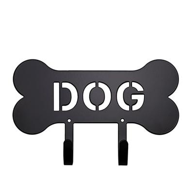 """DOG"" Bone Harry Barker Leash Rack"