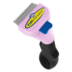Small Short Hair Cat deShedding Tool by FURminator®