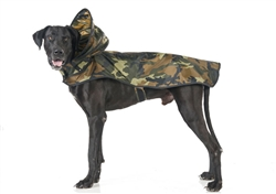 Woodland Camouflage Raincoat - Puddle Jumper Line