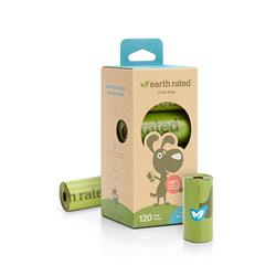 Earth Rated, Unscented, Bio120  (8 rolls per pack)