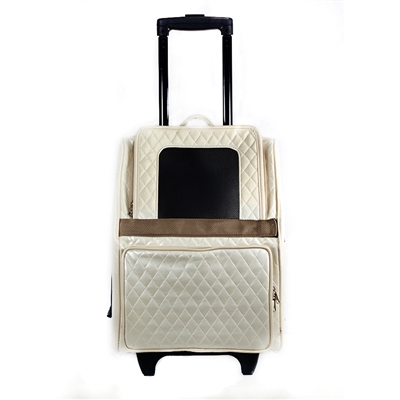 Rio Bag Ivory Quilted Luxe