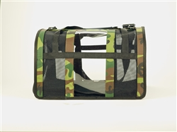 Woodland Camouflage Puppy Shell Carrier