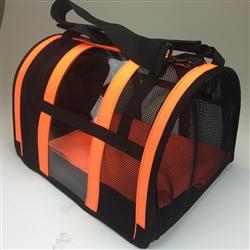 Safety Orange Puppy Shell Carrier