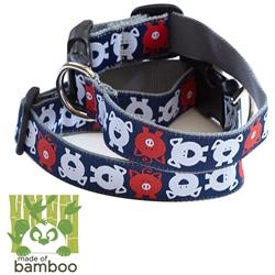 animal farm bamboo dog collar