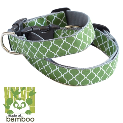 secret garden bamboo dog collar