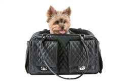 Marlee - Black Quilted