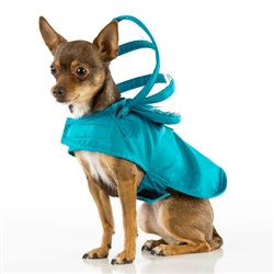 Teal Raincoat - Rainbow Line