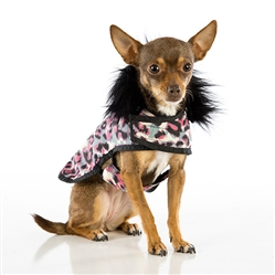 Animal Print Pink Posh Puppy Coat