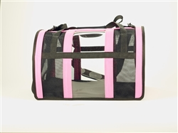 Pink Puppy Shell Carrier