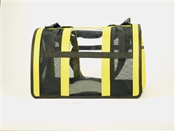 Yellow Puppy Shell Carrier