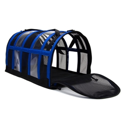 Royal Blue Puppy Shell Carrier