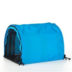 Light Blue Puppy Shell Carrier
