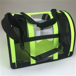 Safety Yellow Puppy Shell Carrier