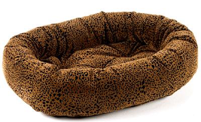 Donut Bed Urban Animal Microvelvet