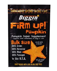 FiRM UP! Pumpkin Super Supplement for Digestive Tract Health for Dogs and Cats, 16oz