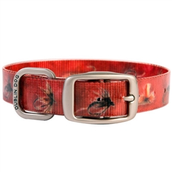 KOA Collar Fly Fish Series - Red