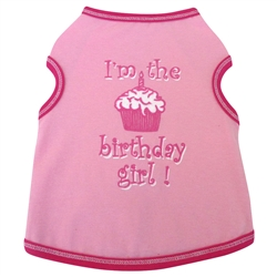 Birthday Girl - Tank - Pink