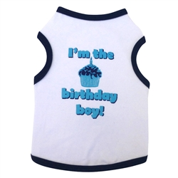 Birthday Boy - Tank - White