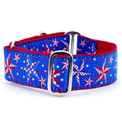 "1.5"" Eclectic Stars Satin Lined Collar"