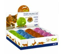SlimCat™ Interactive Feeder - 16 Assorted Colors in Counter Top Display