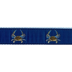 "Maryland Blue Crab - 3/4"" Collars, Leashes and Harnesses"
