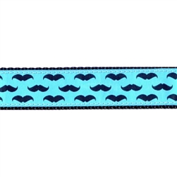 "Mustache - 1.25"" Collars, Leashes and Harnesses"