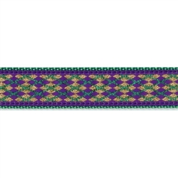 "Mardis Gras - 3/4"" Collars, Leashes and Harnesses"