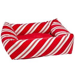 Dutchie Bed Peppermint Stripe Microvelvet