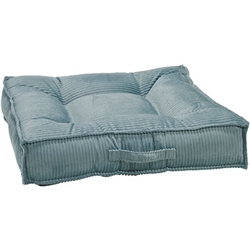 Piazza Bed Blue Bayou Microcord