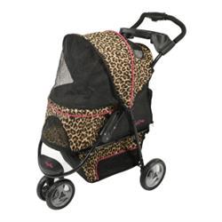 Gen7Pets® Cheetah Promenade™ Pet Stroller for pets up to 50 lbs.