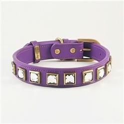 Monte Carlo Collar & Leash - Purple