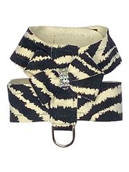 Hollywood Bow Ultra Suede Harness, Zebra