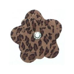 Leopard Garden Flower Collar Sliders