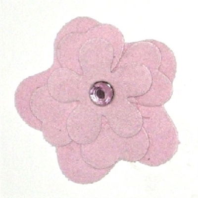 Light Pink Garden Flower Collar Sliders