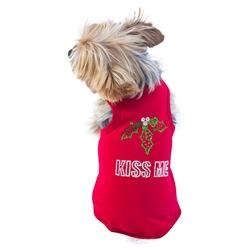 Kiss Me Red Christmas Tank